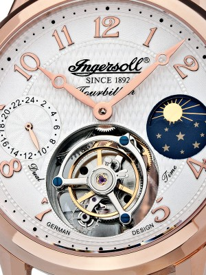 Мъжки часовник Ingersoll Pierce IN5305RG Tourbillon