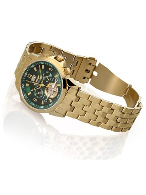 Мъжки часовник Perigaum P-0901-GGr-BRC