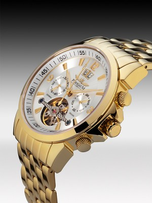 Мъжки часовник Perigaum P-0901-GW-BRC