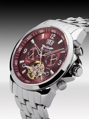 Мъжки часовник Perigaum P-0901-SBr-BRC
