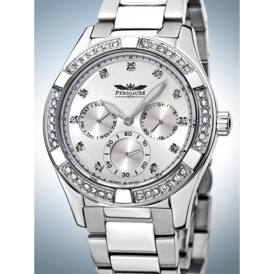 Дамски часовник Perigaum Fancy P-1310-AS-WH