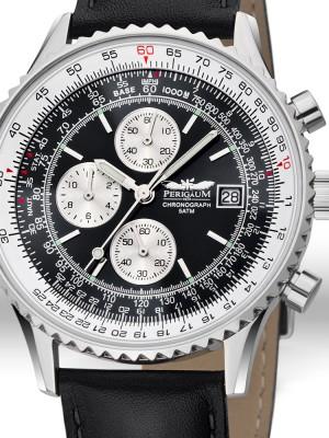 Мъжки часовник Perigaum Flightmaster P-1310-ASBK