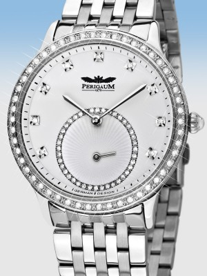Дамски часовник Perigaum Queen P-1311-AS-WH-BRC