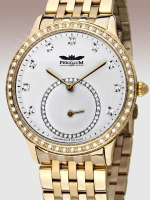 Дамски часовник Perigaum Queen P-1311-IG-WH-BRC