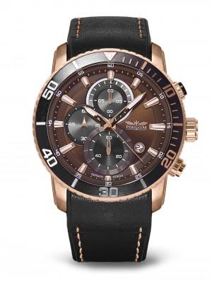 Мъжки часовник Perigaum Orbit P-1402-IR-BRBK