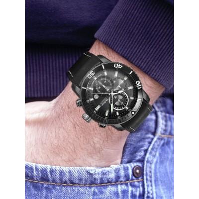 Мъжки часовник Perigaum Orbit P-1402-TI-GRBK