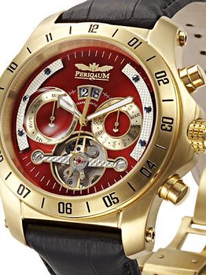 Мъжки часовник Perigaum Transatlantic P-0605-GR