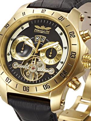 Мъжки часовник Perigaum Transatlantic P-0605-GS