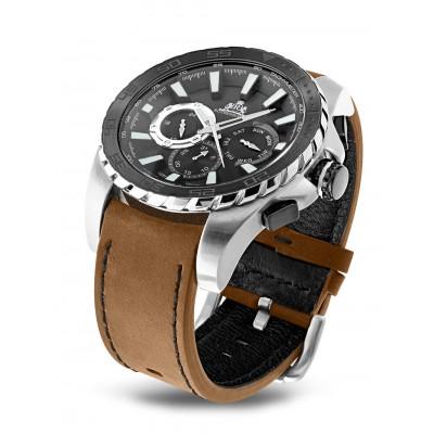 Мъжки часовник Rothenschild Eraser RS-1401-AS-BKBr